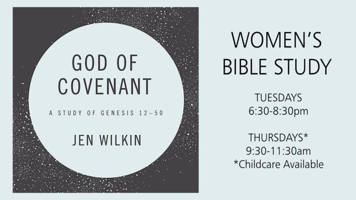 God of Covenant Women's Bible Study logo image