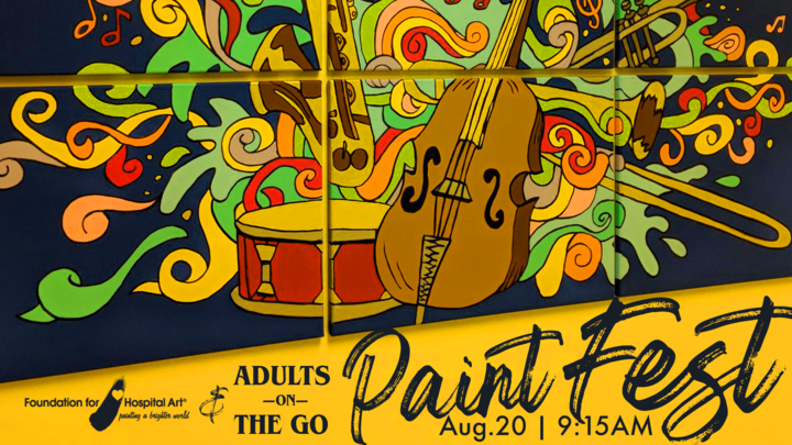 Adults-on-the-GO!!! Paint Fest logo image