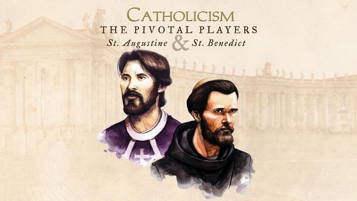 Community Bible Study - Pivotal Players: St. Augustine & St. Benedict logo image