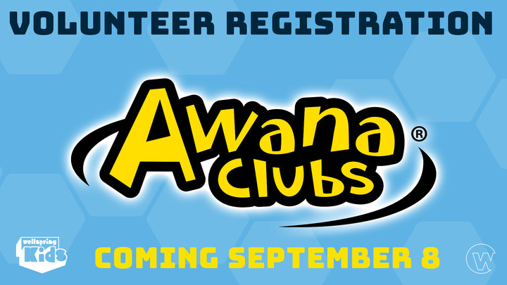 Awana 2019-2020 - Volunteer Registration logo image