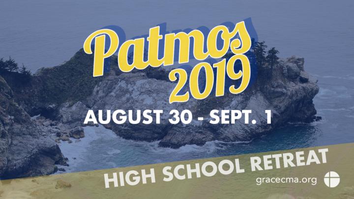 Camp Patmos Fall Retreat 2019 logo image