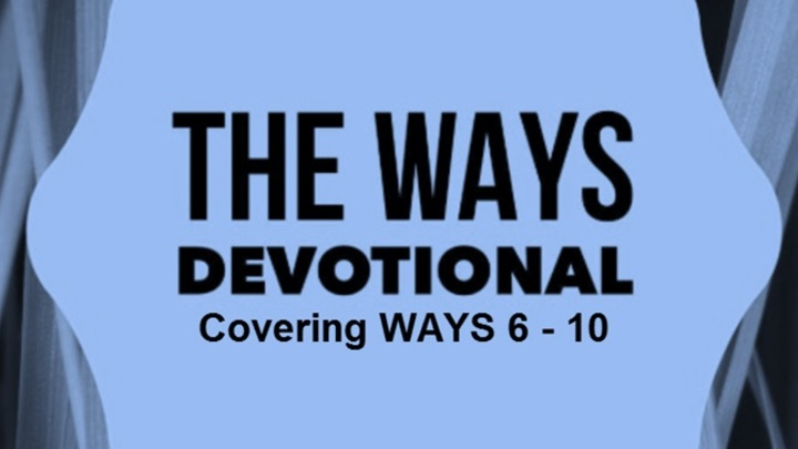 WAYS 6-10 Devotional Booklet Available August 11 logo image