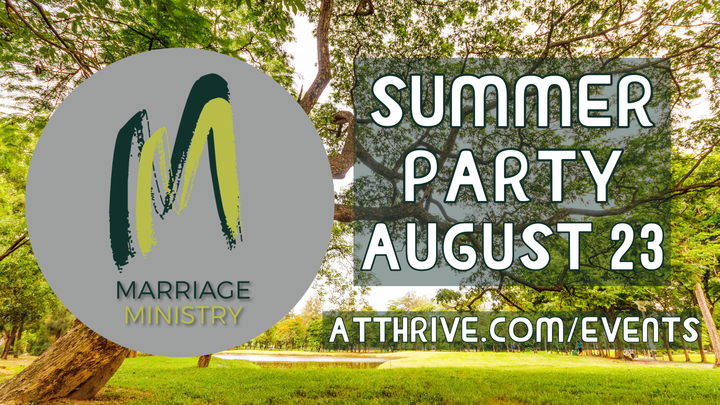 Marriage Ministry Summer Party logo image