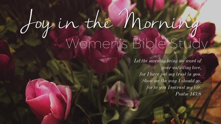 Joy In The Morning Bible Study 2019-2020 logo image