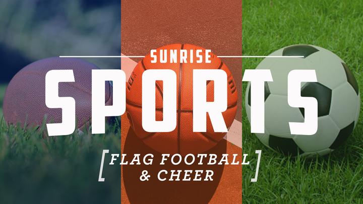 Sunrise Youth Sports Flag Football and Cheer logo image