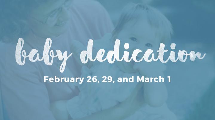 Baby Dedication 2020 logo image