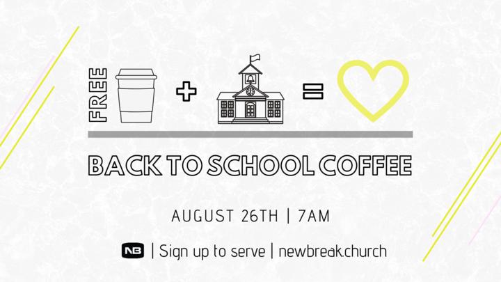 Back to School Coffee logo image