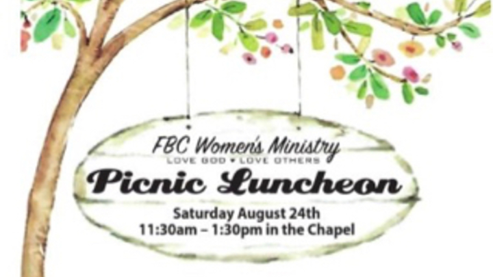 FBC Women's Ministry Picnic Luncheon logo image