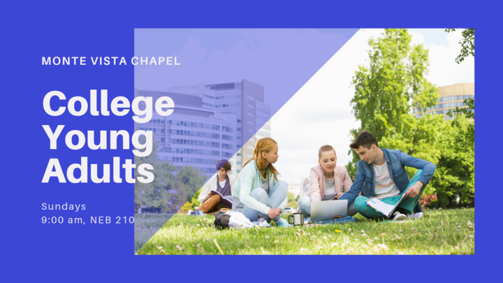College/Young Adults' Gathering – Sunday Mornings logo image