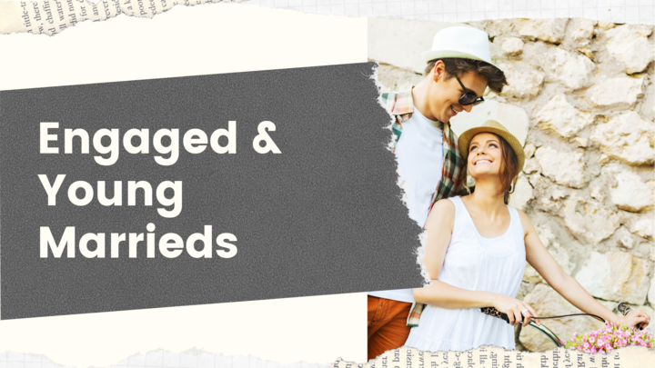 Engaged and Young Married's Gathering – Friday Evenings logo image