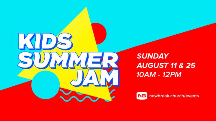 Kids Summer Jam at Newbreak Hillcrest -  Carnival Day logo image
