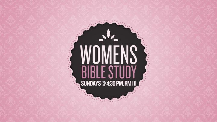 Fall 2019 Women's Bible Study - Sundays logo image