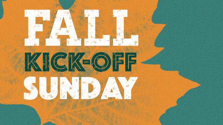 Fall Kickoff Sunday! logo image