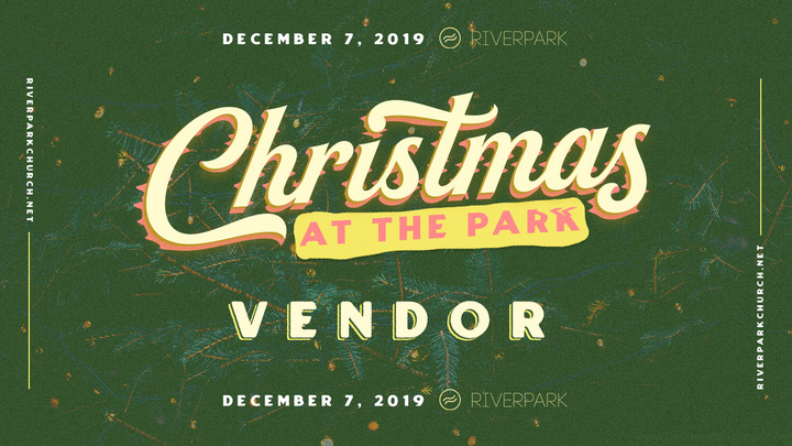 Christmas at the Park Vendor Registration 2019 logo image