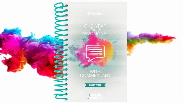 2019-20 Quiet Time Devotional Books logo image
