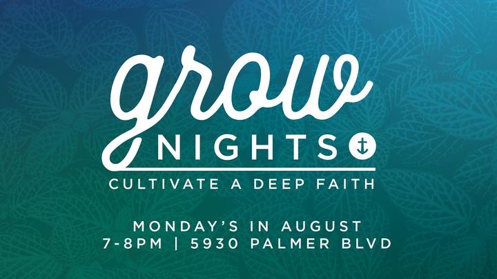 Grow Nights logo image