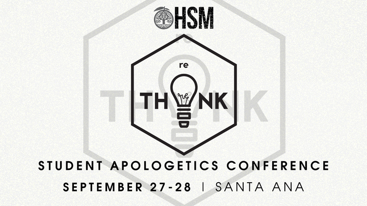 High School - reTHINK Student Apologetics Conference 2019  logo image