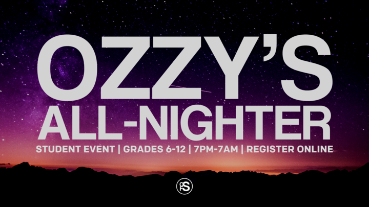 Ozzy's Overnighter logo image
