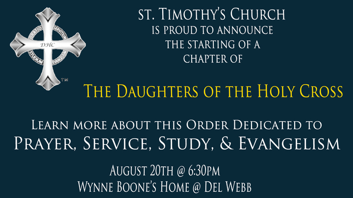Daughters of the Holy Cross - Sally Dixon logo image