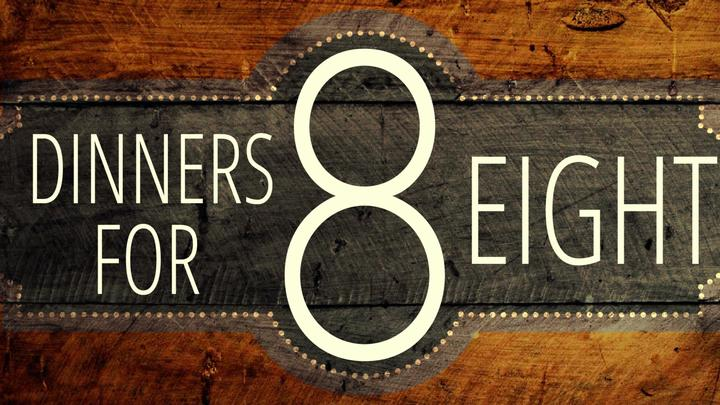 Dinners for Eight logo image