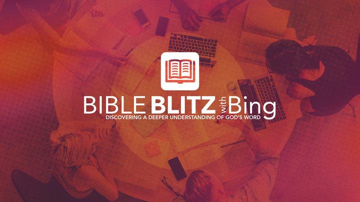 Bible Blitz with Bing logo image