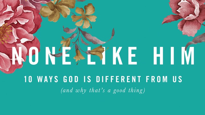 None Like Him - Women's Connect Group logo image
