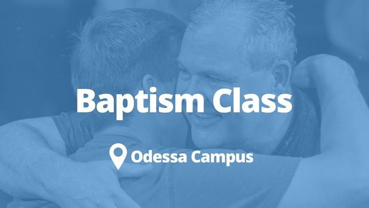 Baptism Class-Odessa | August logo image