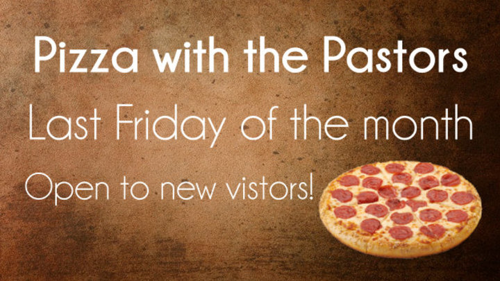 Pizza with the Pastors logo image