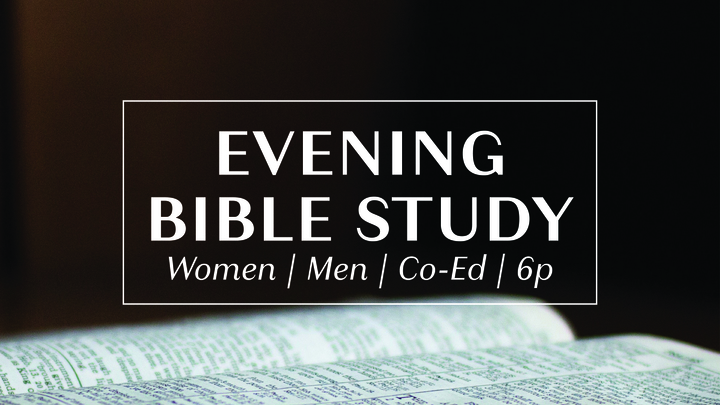 Tuesday Evening Bible Study logo image