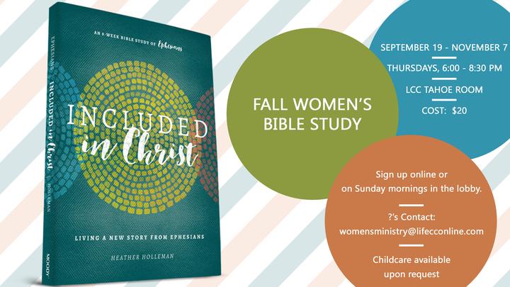 Fall Women's Bible Study logo image