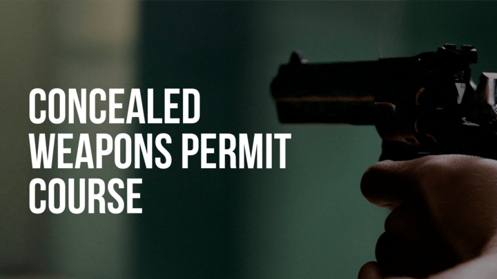 Concealed Weapons Permit Course logo image