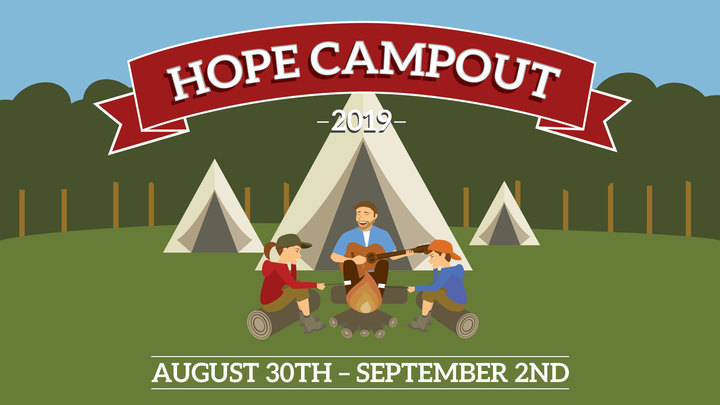 Hope Campout logo image