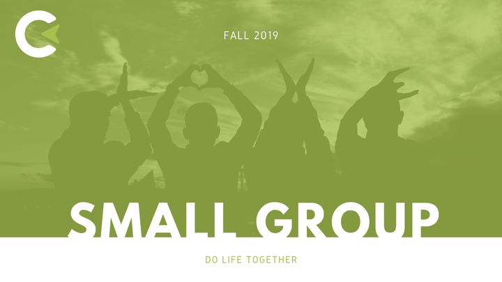 Fall Small Group Sign Up logo image