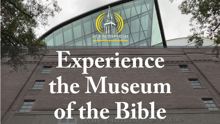 Bus trip to Museum of the Bible logo image