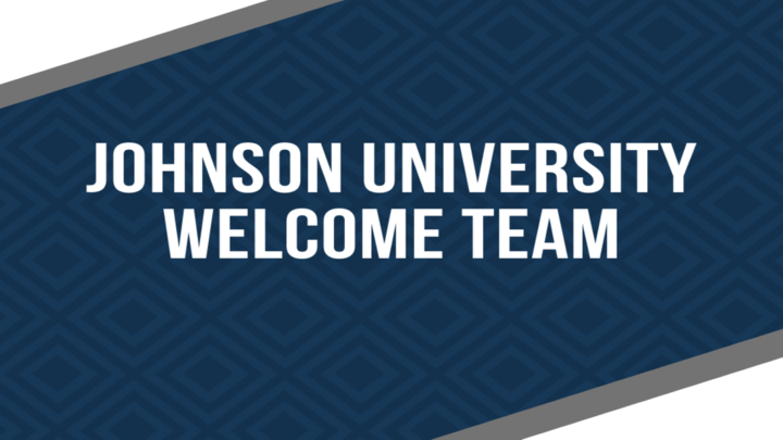Johnson University Welcome Team logo image