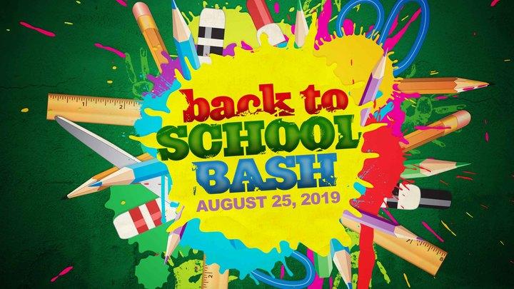 Back to School Bash logo image