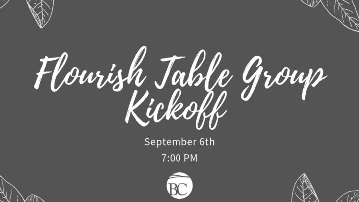 Table Groups Kick-off logo image