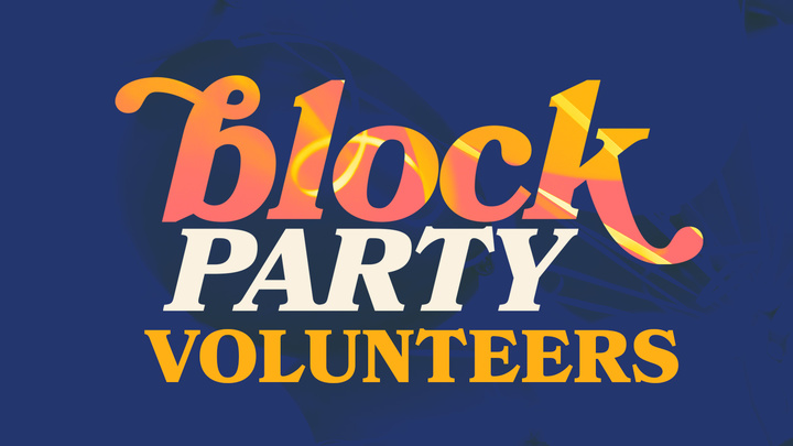 Block Party Volunteer  logo image