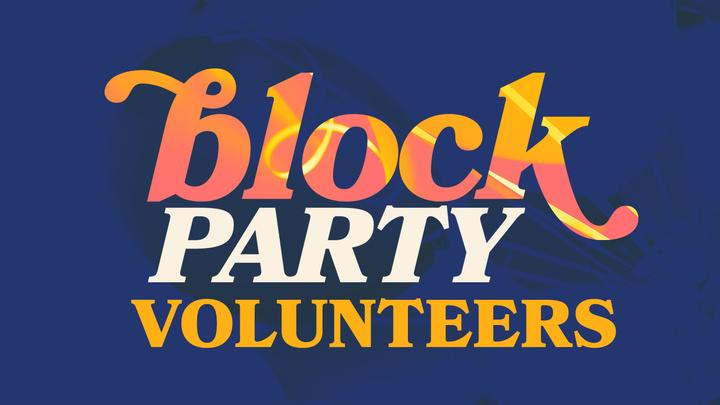 Block Party Volunteer  logo image