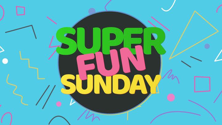 Super Fun Sunday logo image