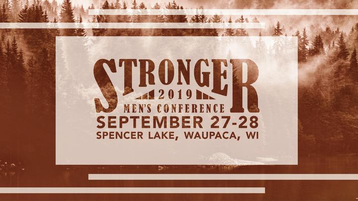 2019 Stronger Men's Conference logo image