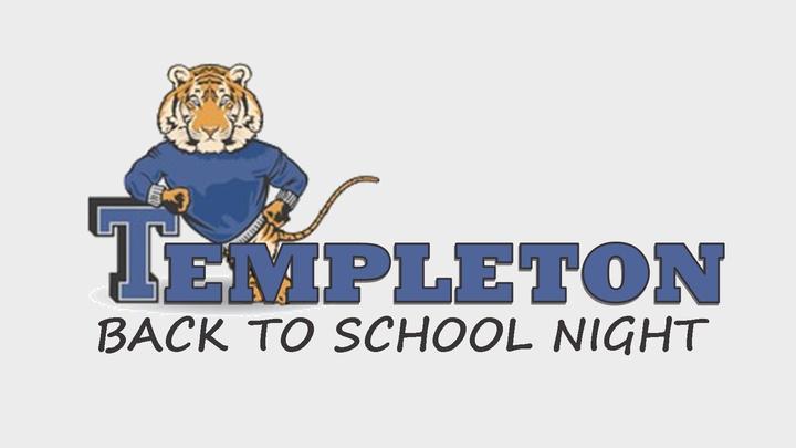Templeton Back to School Night logo image