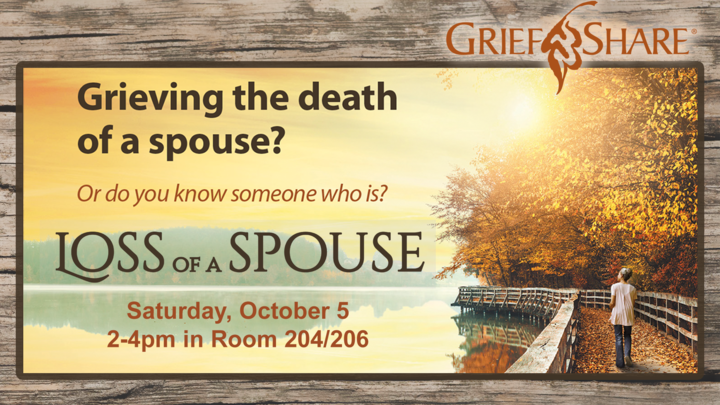 Grief Share Loss of a Spouse logo image