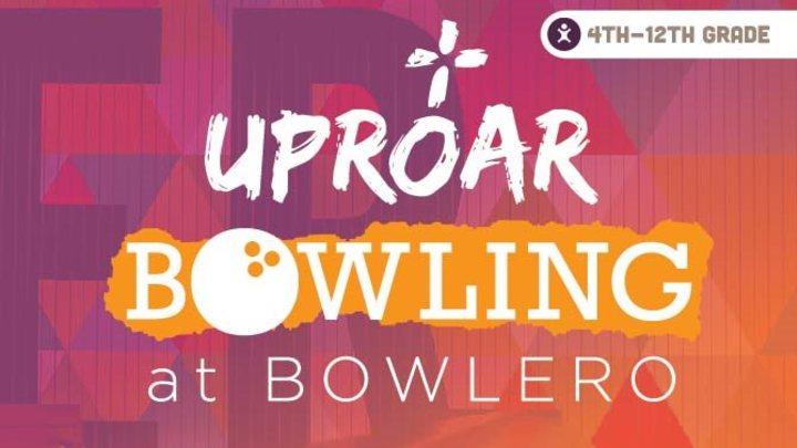UPROAR Bowling logo image