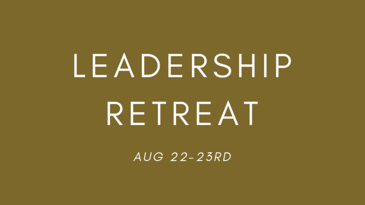 College Leader Retreat logo image