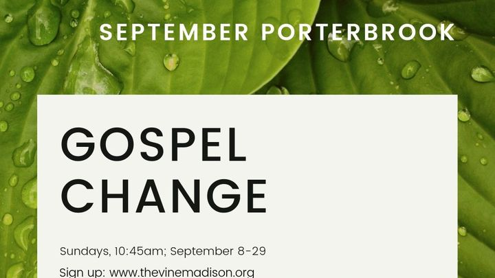 Porterbrook: Gospel Change logo image