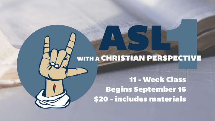 ASL 1 with a Christian Perspective logo image