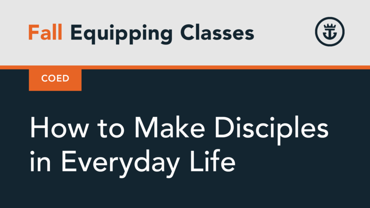 How to Make Disciples in Everyday Life logo image