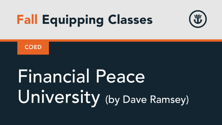 Financial Peace University by Dave Ramsey logo image