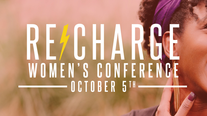 RE-CHARGE Women's Conference logo image